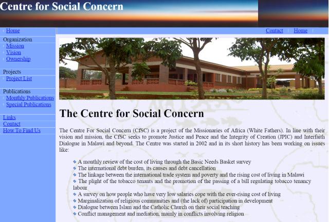 CfSC Webpage Sept 2015
