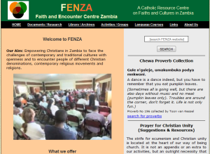 FENZA Front page WEB