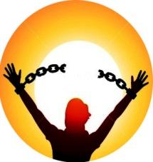 Let us break the chains Logo