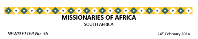 Newsletter South Africa no 36 logo