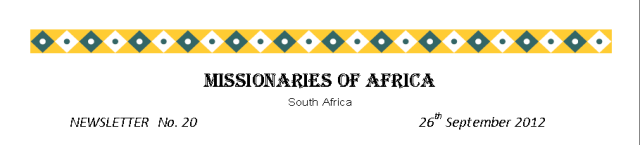 Newsletters South Africa no 20