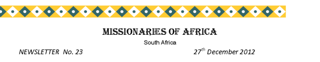 Newsletters South Africa no 23