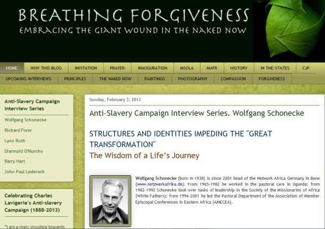 Breaching forgiveness blog