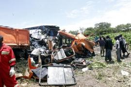 Bus accident in Chibombo