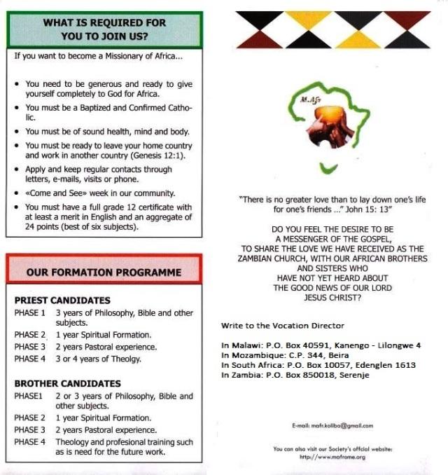 Vocation animation leaflet D