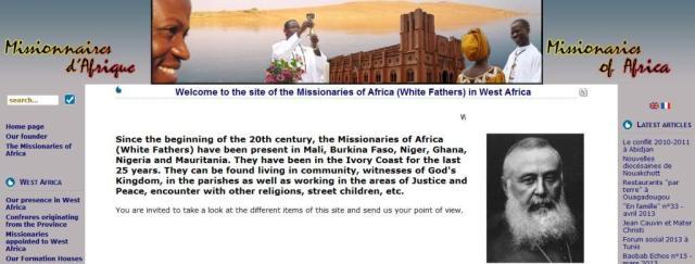 les Missionnaires d'Afrique de l'Ouest
