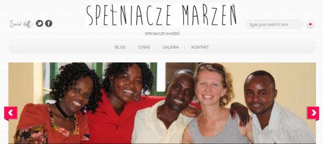 Monika Grzelak webpage
