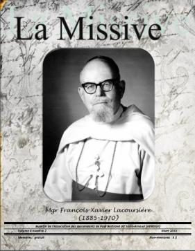 La Missive page couverture