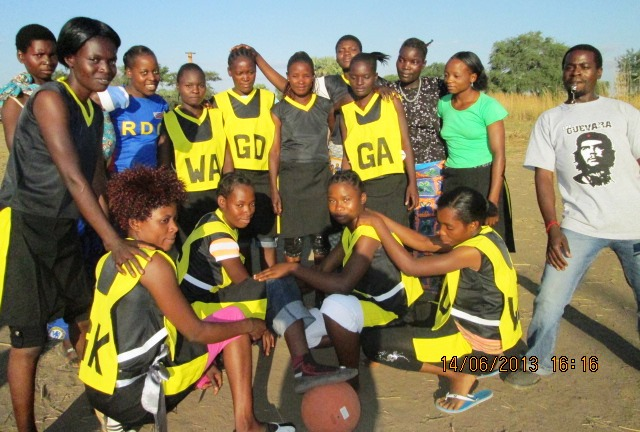 Football and Netball Teams in Lumimba