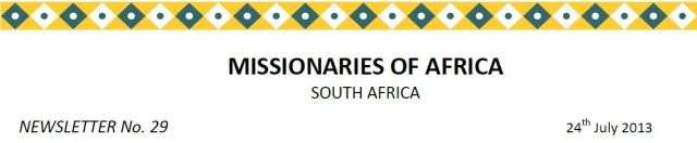 Newsletter South Africa no 29