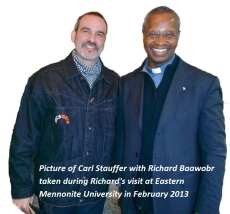 Interview with Carl Stauffer