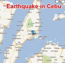 Earthquake in Cebu