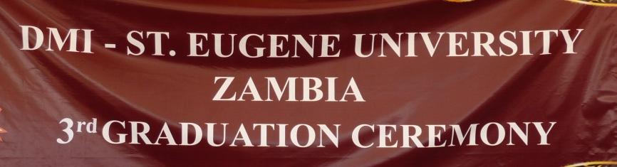 Third Graduation Ceremony of DMI Catholic University in Zambia