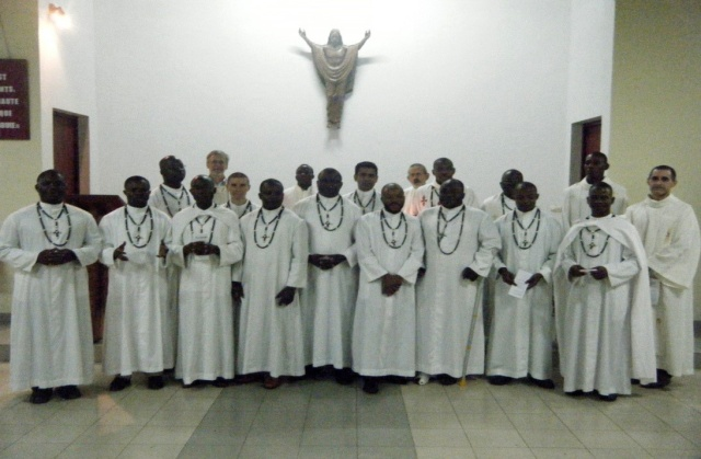 Theology Students in Abidjan 2013