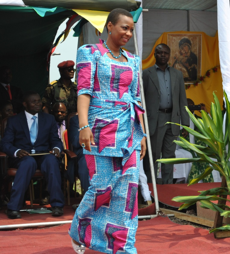 Marie Olive Lembe di Sita, bride of pres - gettyimages.com