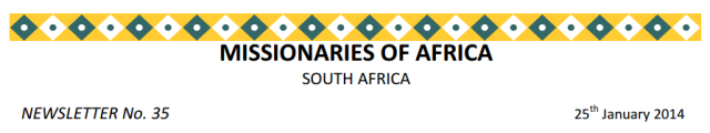 Newsletter South Africa no 35 logo