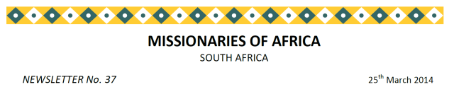 Newsletter South Africa no 37 logo