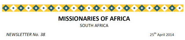 Newsletter South Africa no 38 logo