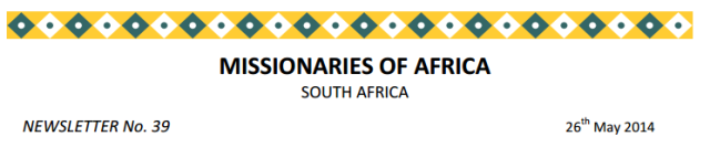 Newsletter South Africa no 39 logo