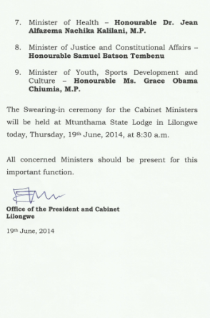 Cabinet Appointment 02