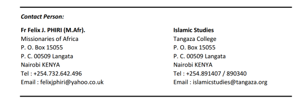 Islamic Studies Nairobi 02