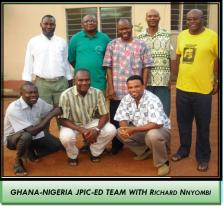 JPIC-ED Ghana - Nigeria Team