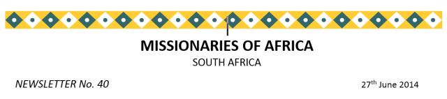 Newsletter South Africa no 40 logo
