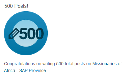 500 posts Miss of Africa on SAP blog