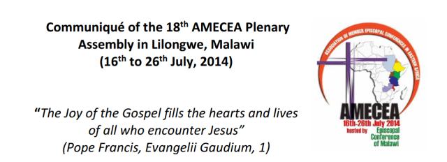 AMECEA Communiqué July 2014