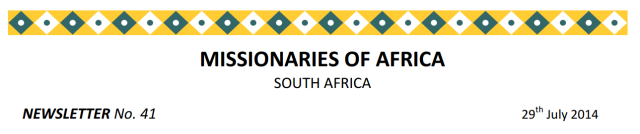 Newsletter South Africa no 41 logo