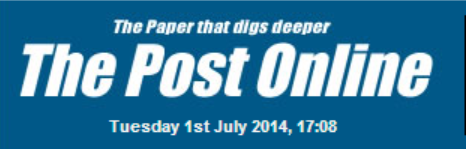 The Post Online 01-06-2014