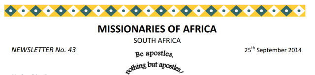 Newsletter South Africa no 43 logo