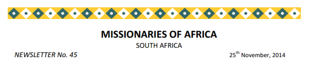 Newsletter South Africa no 45 logo