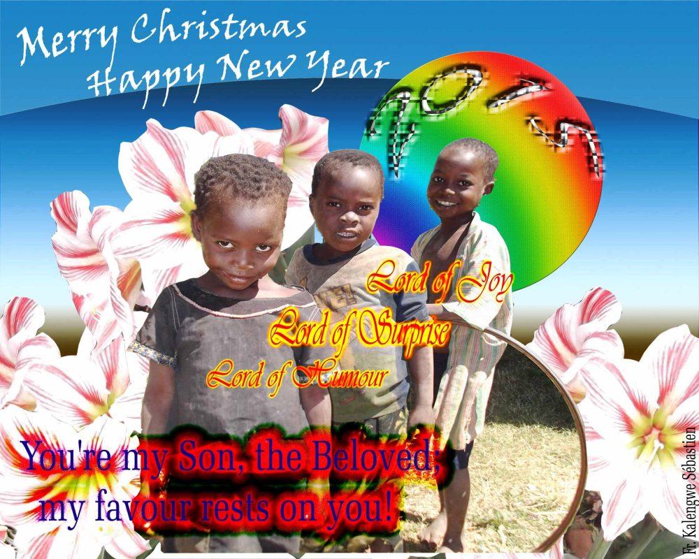 Merry Christmas from Sébastien Kalengwe (2/3)
