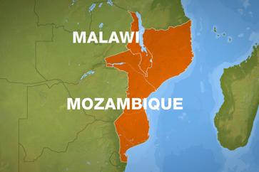 Malawi - Mozambique Map