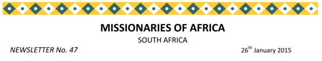 Newsletter South Africa no 47 logo