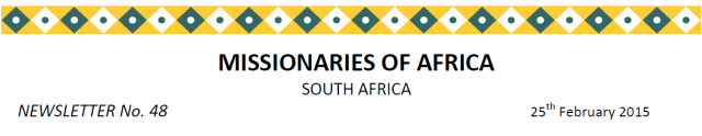 Newsletter South Africa no 48 logo