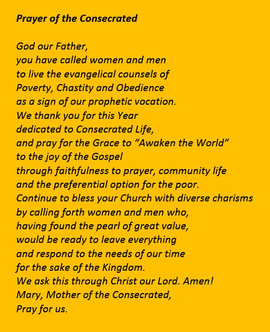 Prayer of the Consecrated 01