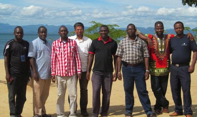 Frédéric Ajaruva Bedijo, Deogratius Ngowi, Norbert Nkingwa, Saju Jose Akkara, Florent Sibiri Sawadogo, Kombé dit Moïse Yébédié, Boris Yabre and Simeon Kalore.