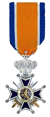 Knight of the Order of Orange medal copie