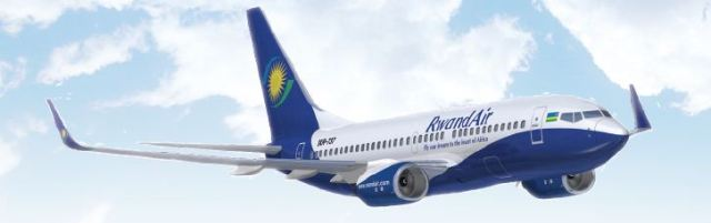 Rwandair Plane