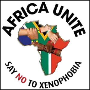 Say no to xenophobia 2015