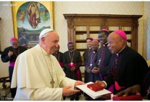 Episcopal Conference of Mozambique at the Vatican