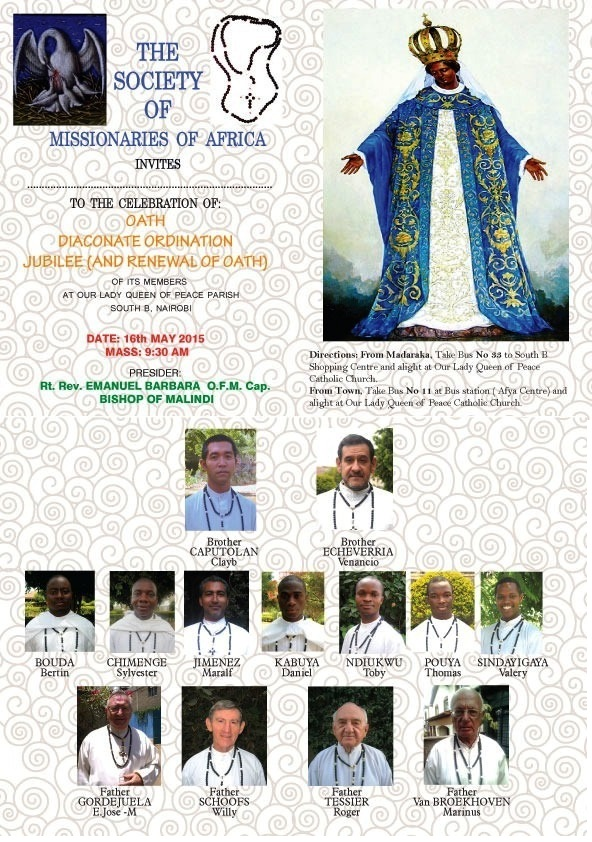 Oath Diaconate Nairobi 2015