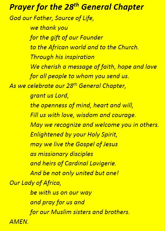 Prayer of 28th Chapter