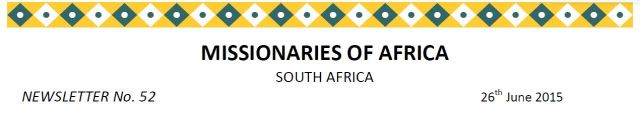 Newsletter South Africa no 52 title