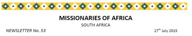 Newsletter South Africa no 53 title