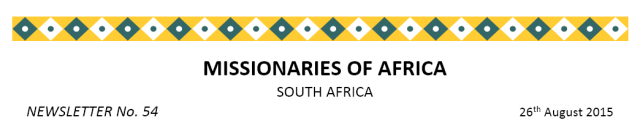 Newsletter South Africa no 54 title