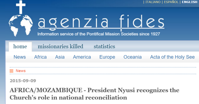 Mozambique reconciliation