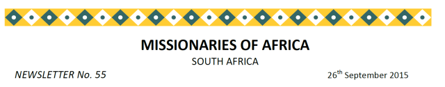 Newsletter South Africa no 55 title